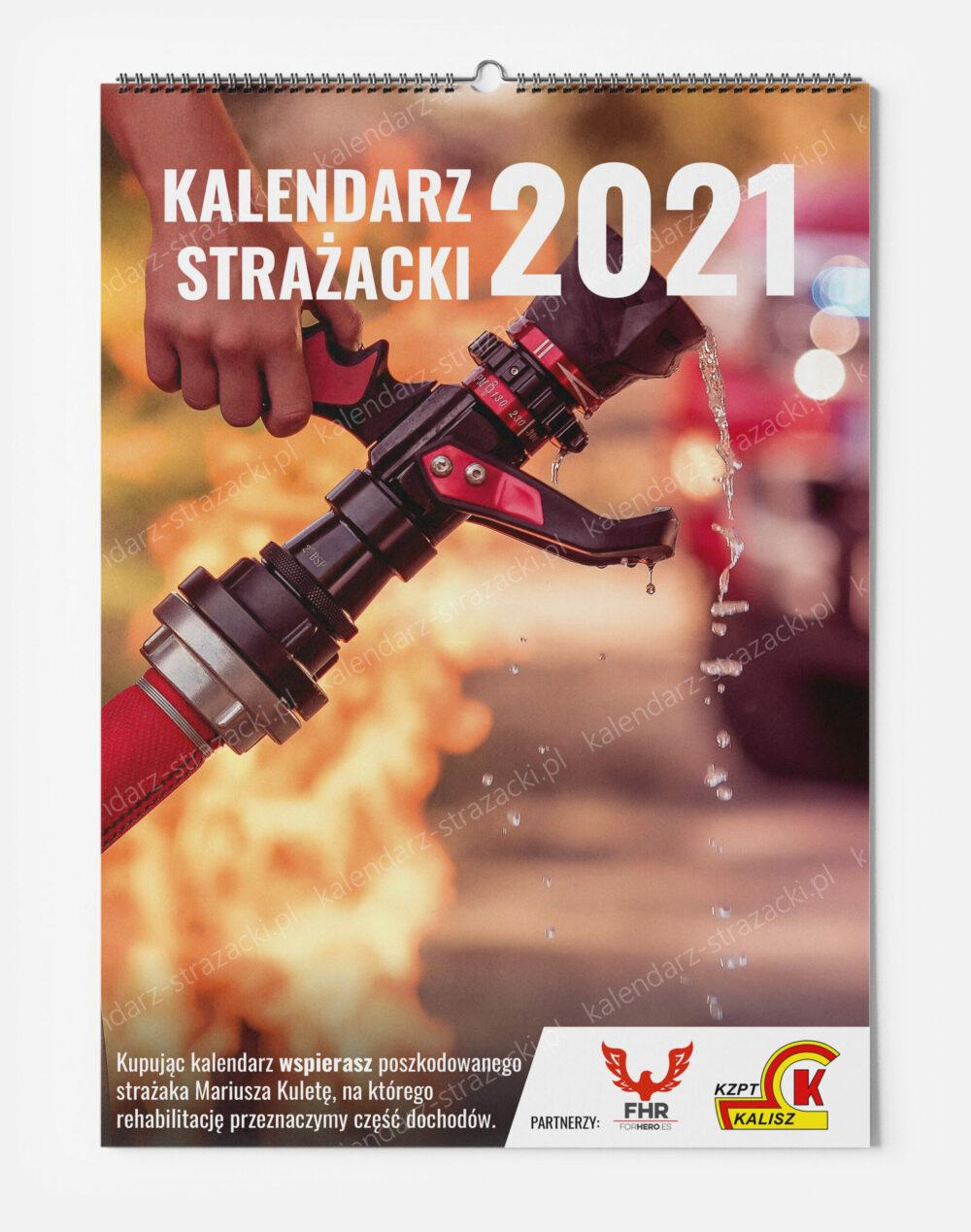 Kalendarz Strażacki 2021 - okładka